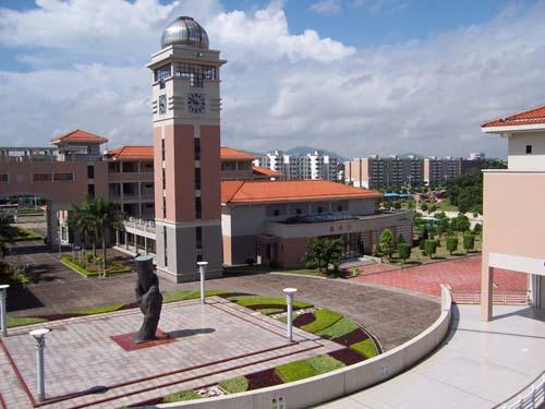 一中校园优美风景