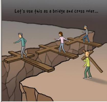 每个人都背负自己的十字架